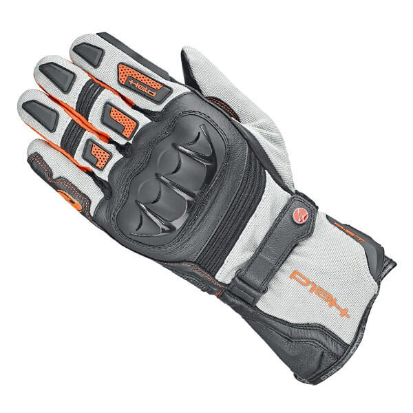 Held Sambia 2 in 1 Gore-Tex Gloves - Grey/Orange