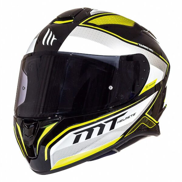 MT Targo - Interact Black/Pearl White/Fluo Yellow