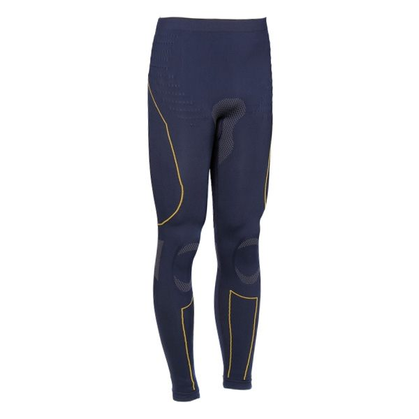 Forcefield Tech 2 Base Layer Pants - Blue/Yellow