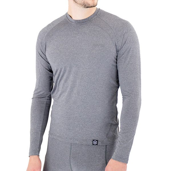 Knox Dry Inside Dual Active Max Long Sleeved Top - Grey