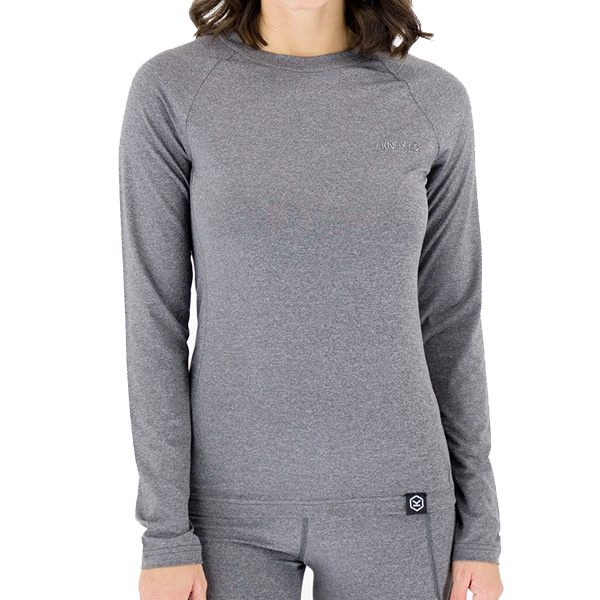 Knox Dry Inside Dual Active Mia Long Sleeved Top - Grey
