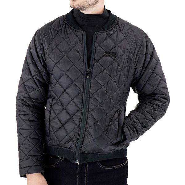 * Knox Quilted Jacket Mk2 Mens - Black