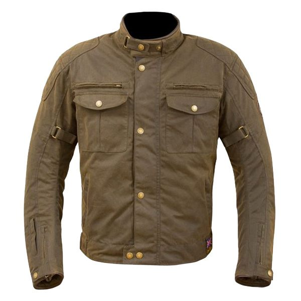 Merlin Barton Wax Jacket - Olive