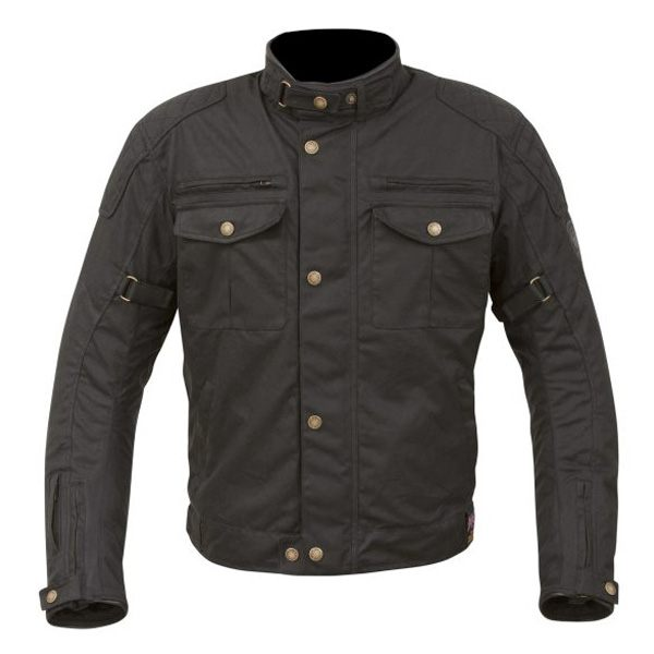 Merlin Barton Wax Jacket - Black