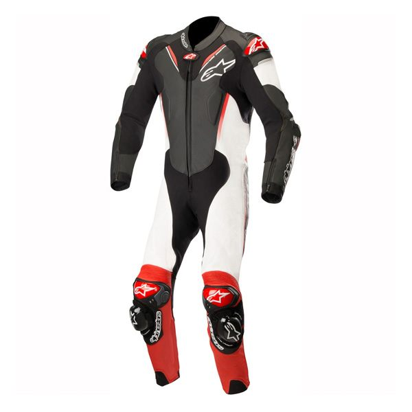 Alpinestars Atem V3 1Pce Leather Suit - Black/White/Red