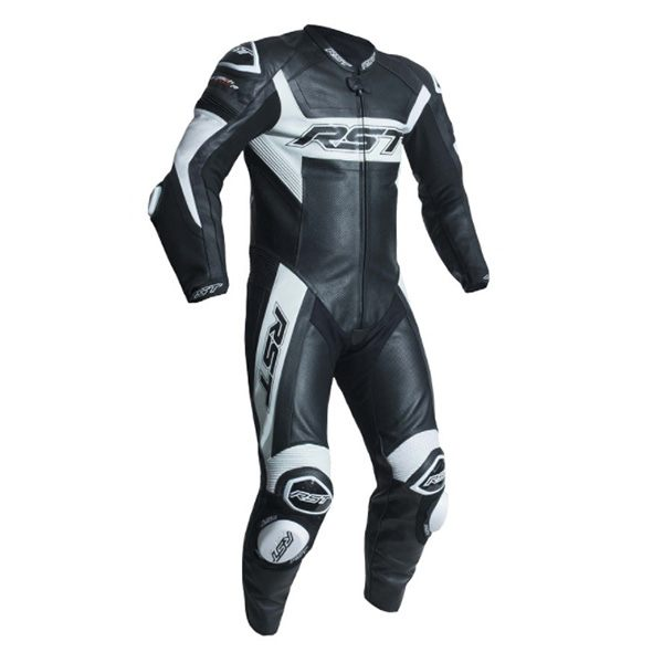 RST Tractech Evo R CE 1 Piece Leather Suit - White