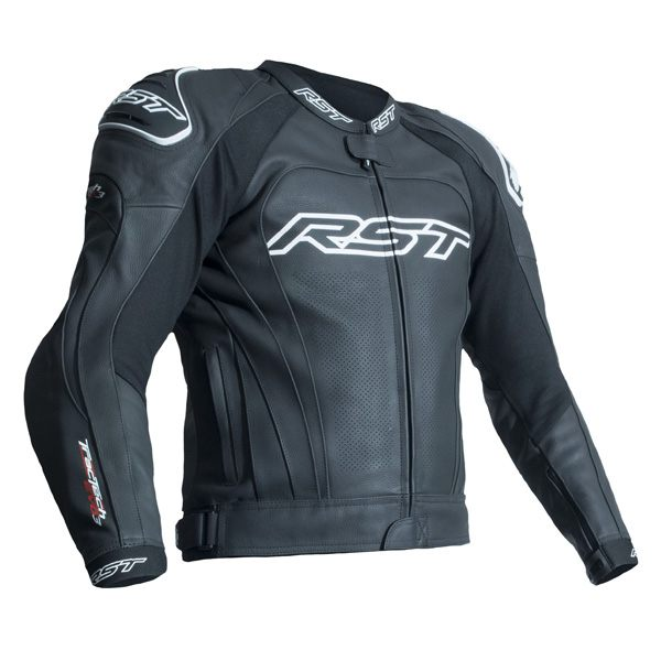 RST Tractech Evo 3 CE Leather Jacket - Black