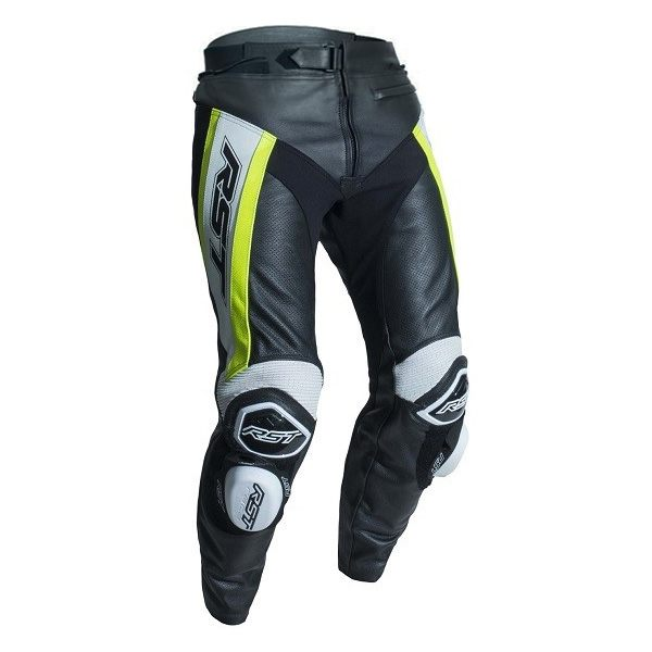 * RST Tractech Evo R CE Leather Jeans - Fluo Yellow