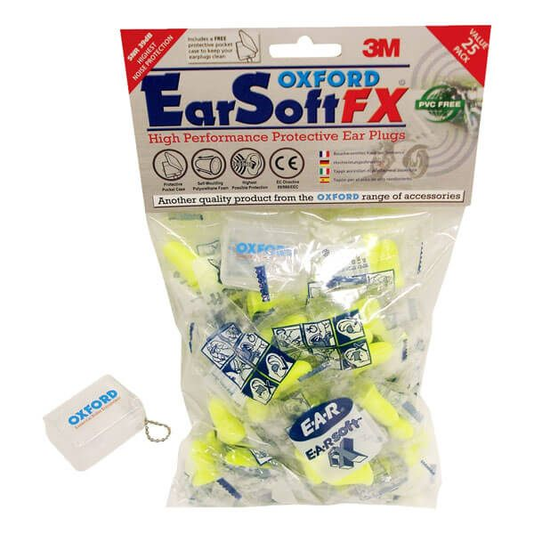 Oxford Earsoft FX Earplugs