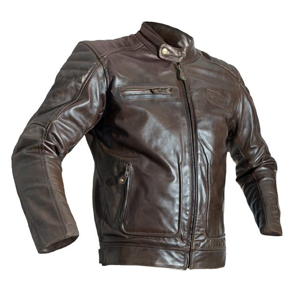 RST Roadster 2 CE Leather Jacket - Tobacco Brown