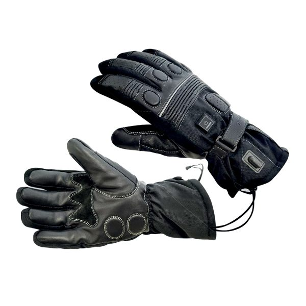 Oxford Heated Gloves Mens - Black