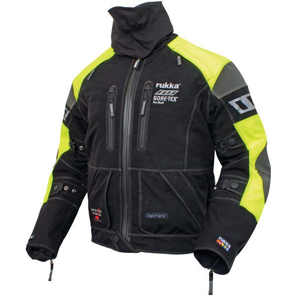 Rukka ArmaS Gore-Tex Jacket Yellow/Black