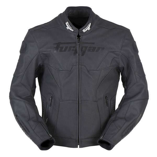Furygan Bullring Mens CE Leather Jacket - Black
