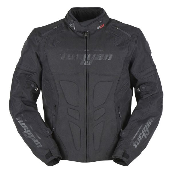 Furygan Blast Waterproof Mens CE Jacket - Black
