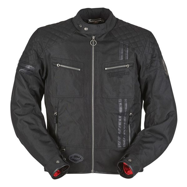 Furygan Serpico Waterproof Mens CE Jacket - Black