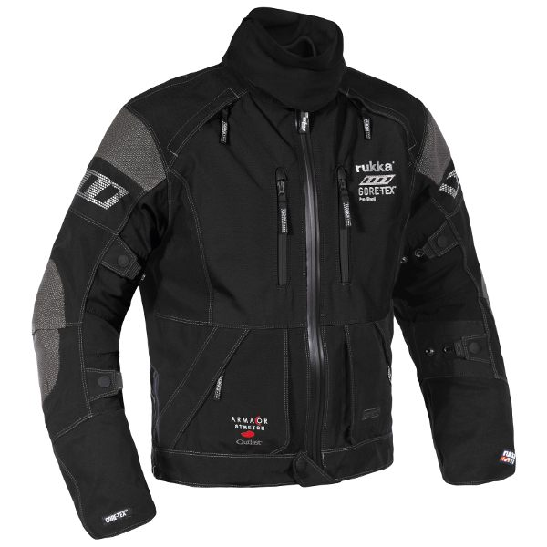Rukka ArmaS Gore-Tex Jacket - Black