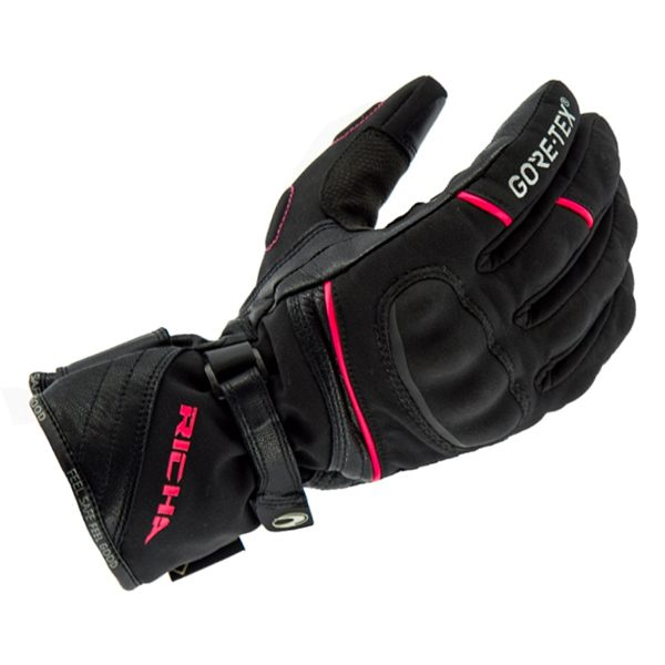 Richa Diana Gore-Tex Ladies Gloves - Black/Pink