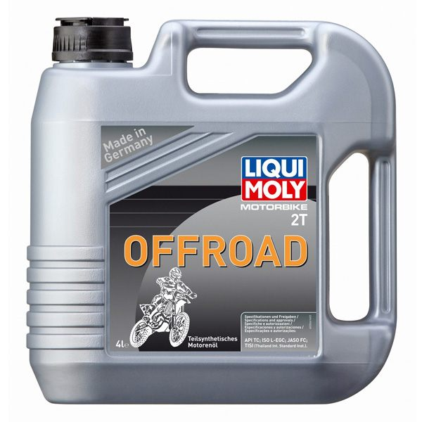 Liqui Moly Oil 2 Stroke - Semi Synth - Offroad - 4L