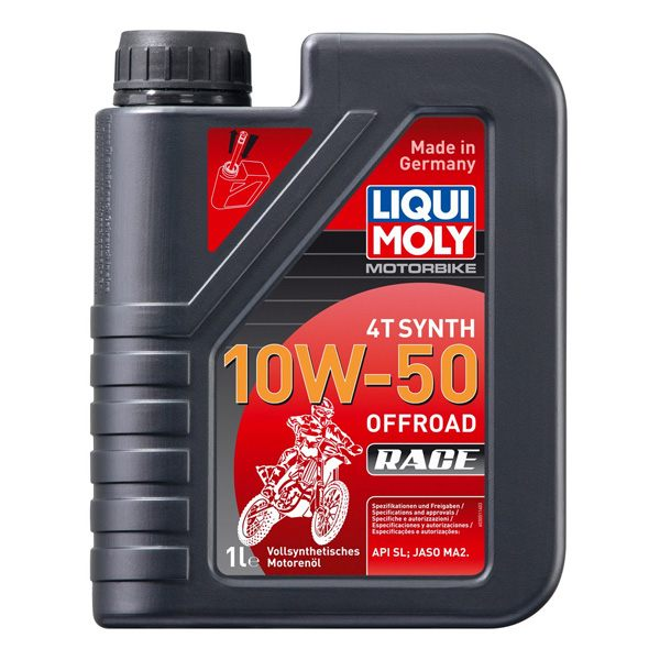 Liqui Moly Oil 4 Stroke - Fully Synth - Offroad Race 10W-50 - 1L