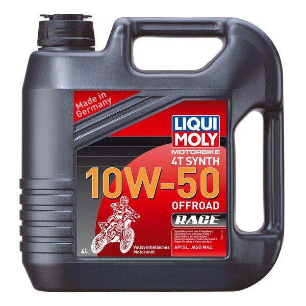 Liqui Moly Oil 4 Stroke - Fully Synth - Offroad Race 10W-50 - 4L