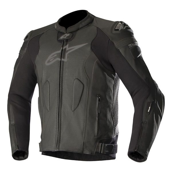 Alpinestars Missile Tech-Air Ready Mens Leather Jacket - Black