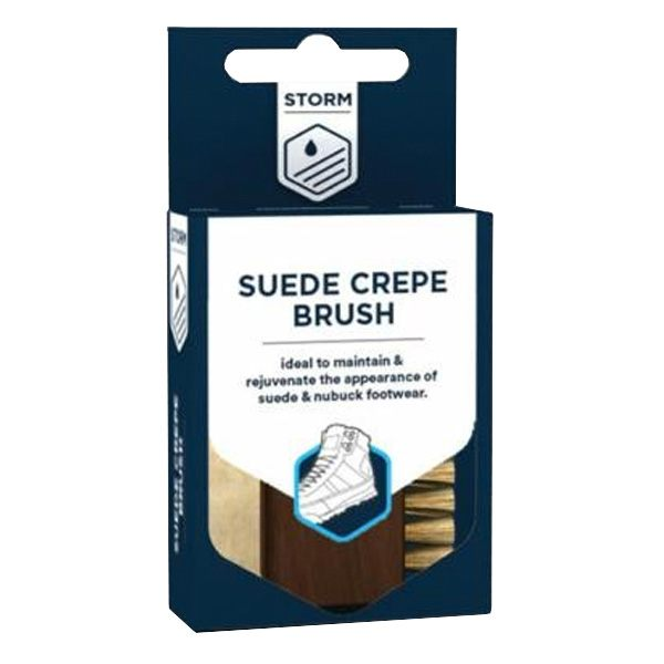 Storm Suede and Crepe Brush