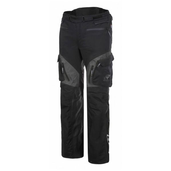Rukka Overpass Gore-Tex Trousers - Black/Grey