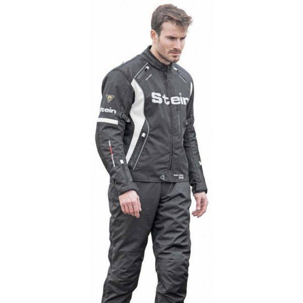Stein STJ540 Jacket Mens - Black/White
