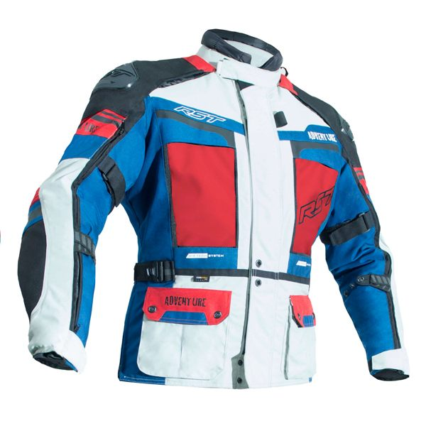 RST Pro Series Adventure 3 CE Jacket - Ice/Blue