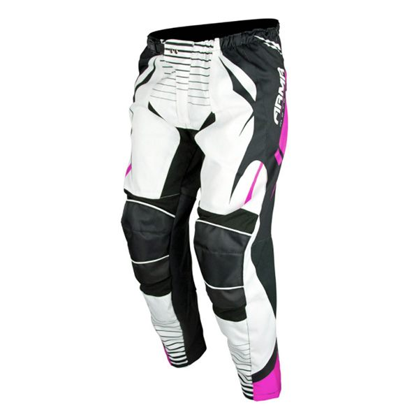 ARMR Moto KPMX3 Kids MX Trousers - Pink/White