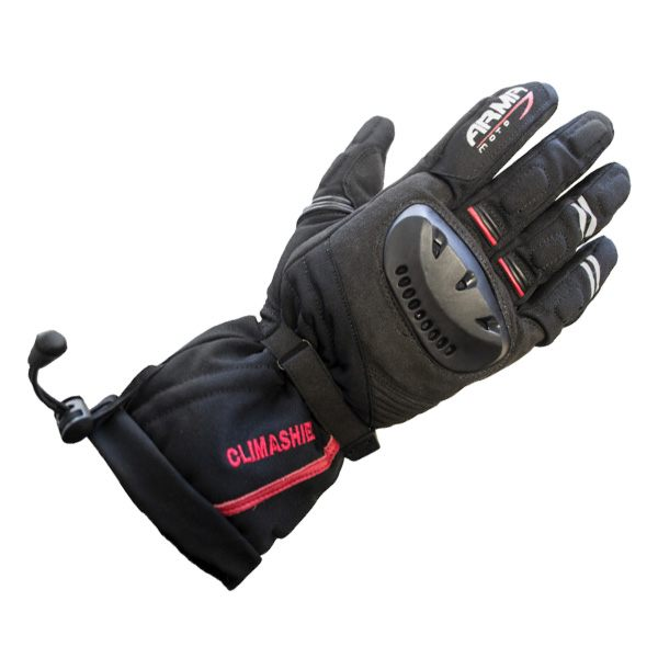 ARMR Moto WP680 Outlast Waterproof Gloves - Black