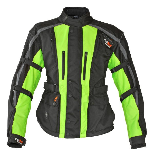Stein Heated Jacket Mens - Black/Yellow