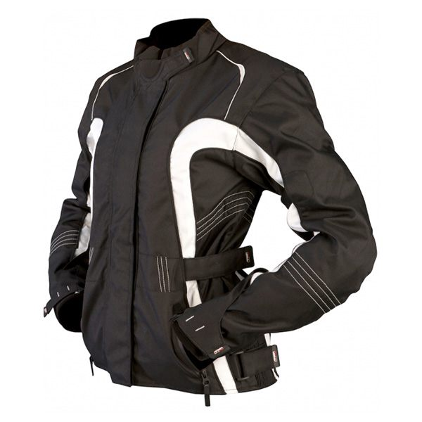 ARMR Moto Atsu Ladies Jacket - Black/White