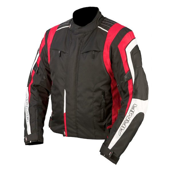ARMR Moto Ikedo Jacket - Black/Red/White