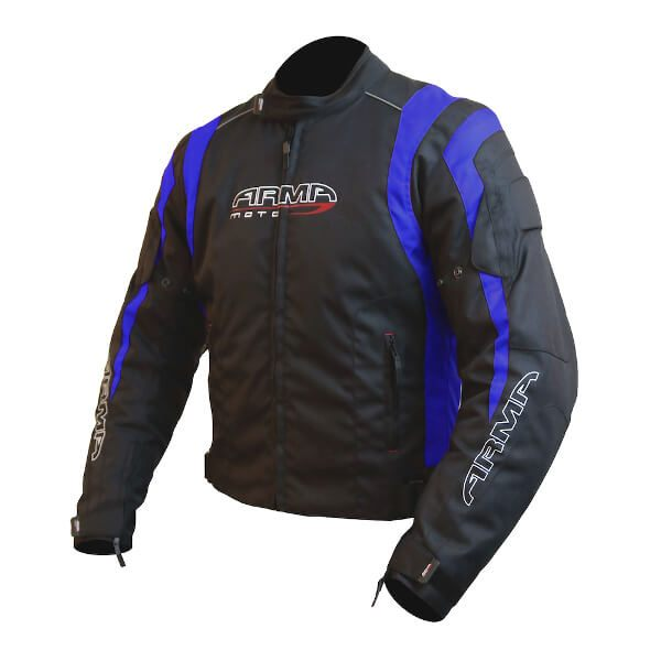 ARMR Moto Ikedo 2 Jacket - Black/Blue