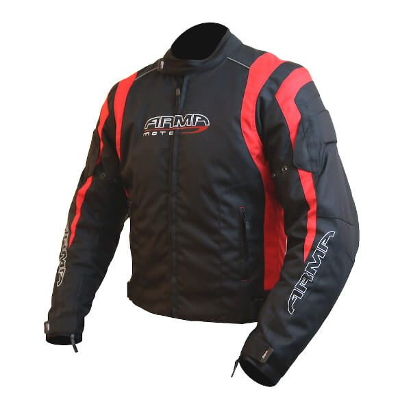 ARMR Moto Ikedo 2 Jacket - Black/Red