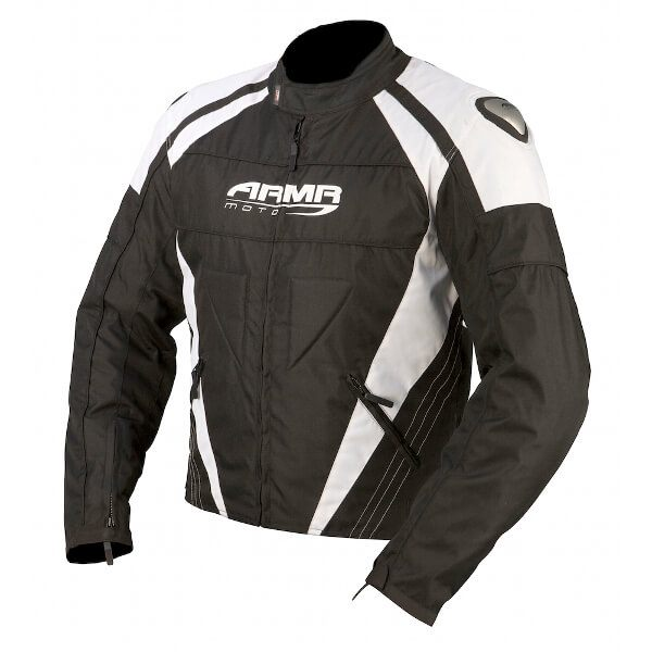 ARMR Moto Itami Jacket - Black/White