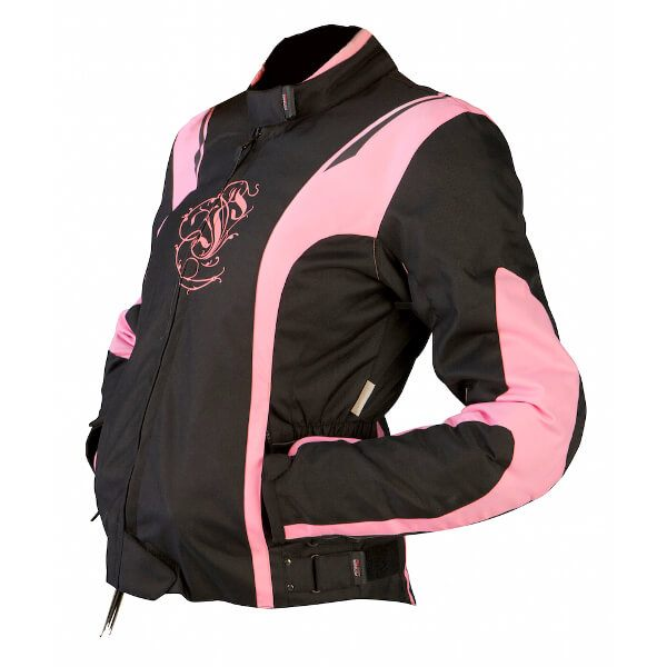 ARMR Moto Jojo Ladies Jacket - Black/Pink