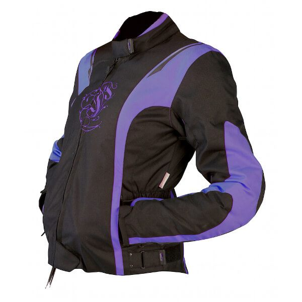 ARMR Moto Jojo Ladies Jacket - Black/Purple