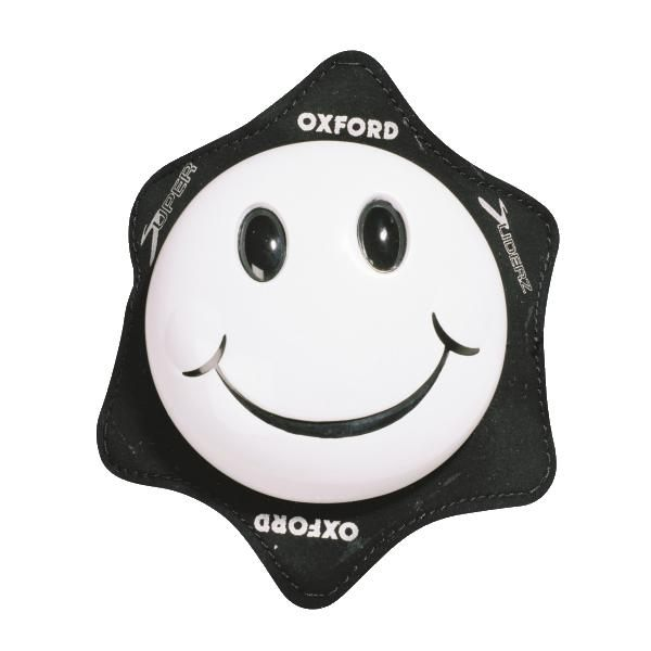Oxford Smiler Knee Sliders - White