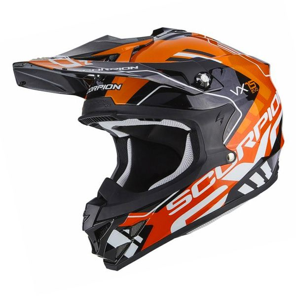 Scorpion VX-15 Evo - Argo Black/Orange