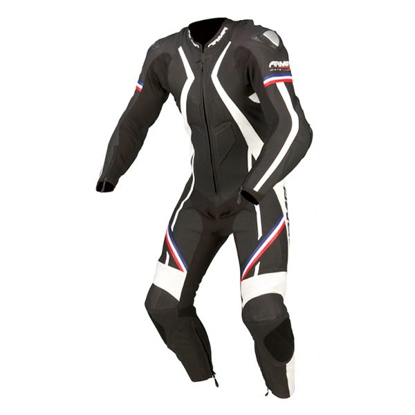 * ARMR Moto Harada R 2016 Leather Suit - Black/Blue/Red