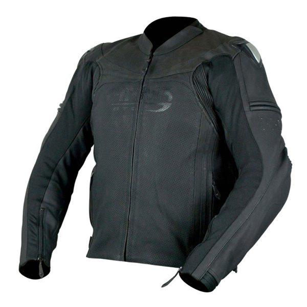 ARMR Moto Raiden Leather Jacket - Black
