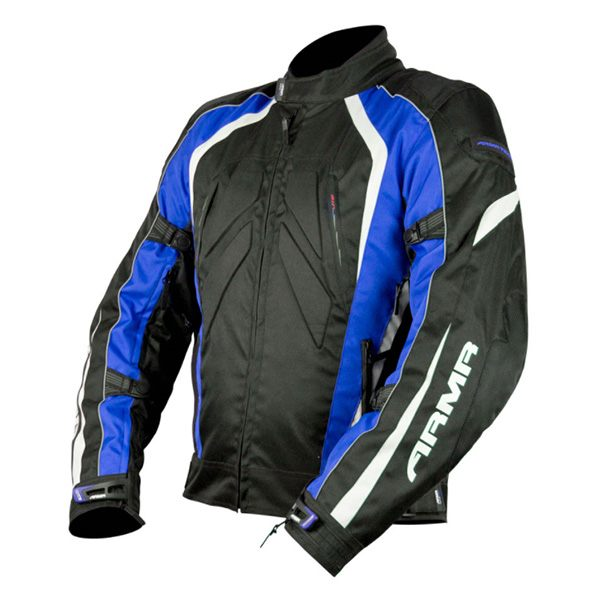 ARMR Moto Shiro Jacket - Black/Blue