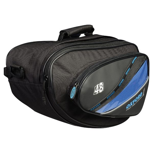Oxford 1st Time Sports Panniers - Black