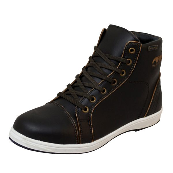 ARMR Moto Nikko Casual Shoes - Dark Brown