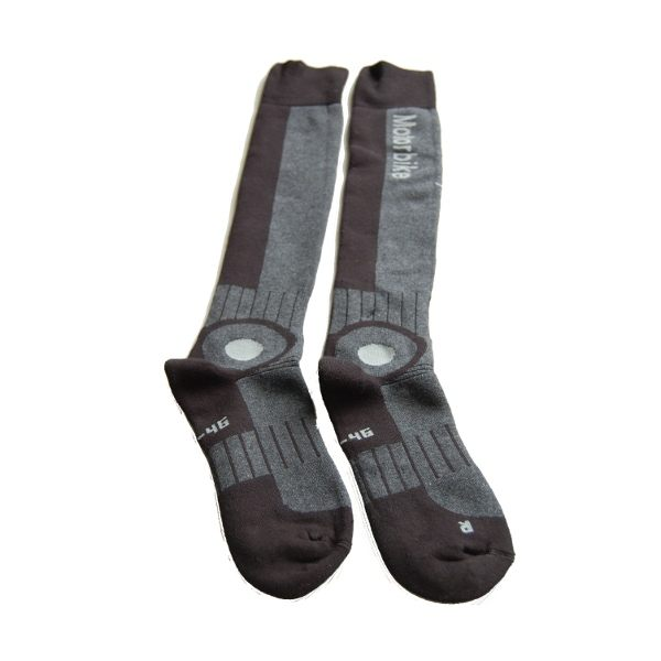 Motorbike Socks - Long - Black