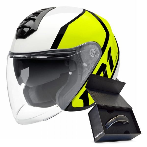 Schuberth M1 (Including Free comms Kit)  Flux Yellow