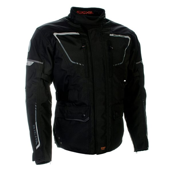 Richa Phantom 2 Waterproof Jacket - Black