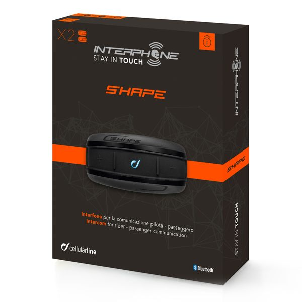 Interphone Shape Bluetooth System - Twin Pack